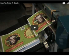 How are booklet printed?