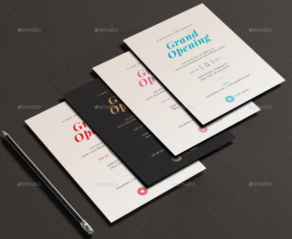 Invitation Card Printing Design Template 6 Amazing Invitation Card Printing Design Template Invitation card printing design 1 1