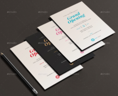 6 Amazing Invitation Card Printing Design Template
