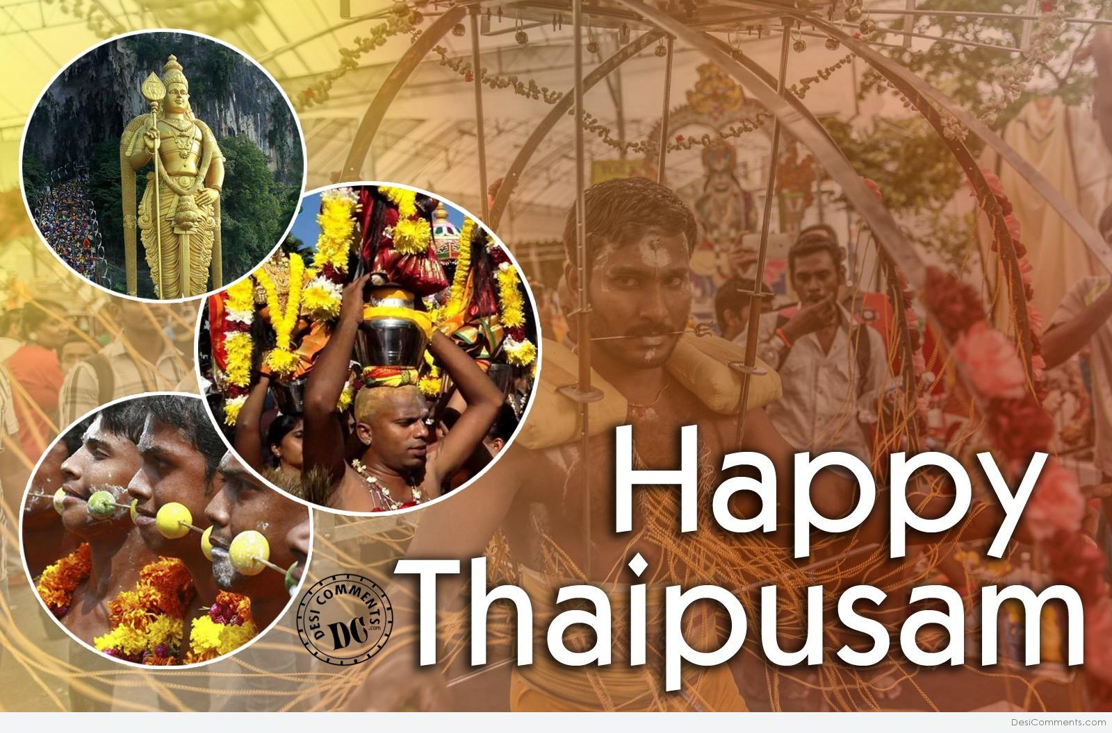 Off on 09/02/2017 Happy Thaipusam happy thaipusam