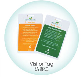 plastic card Plastic Card Plastic Card Visitor Tag