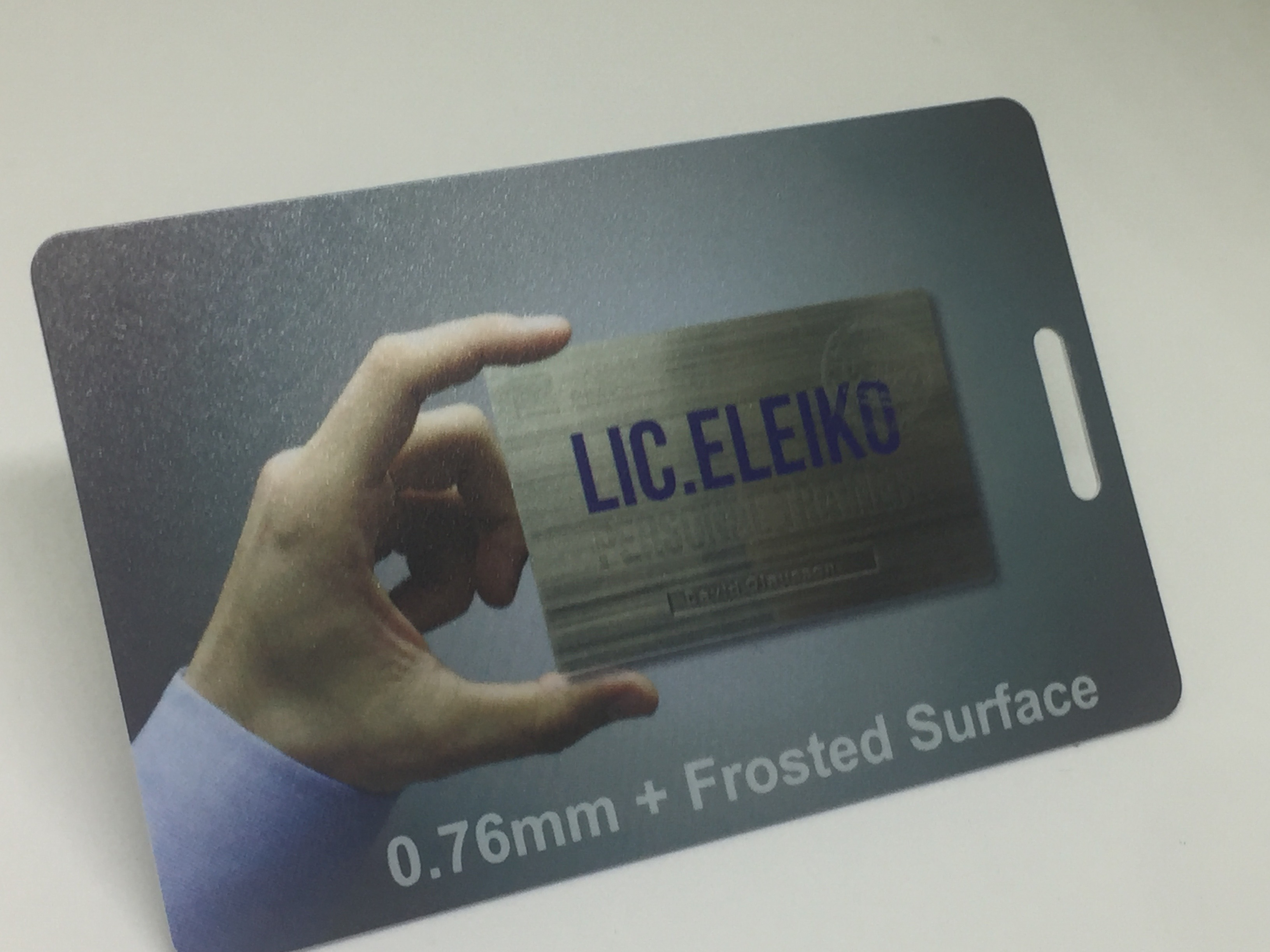 transparent name card printing in singapore