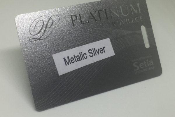 metalic silver Plastic Card Quotation metalic silver 600x400