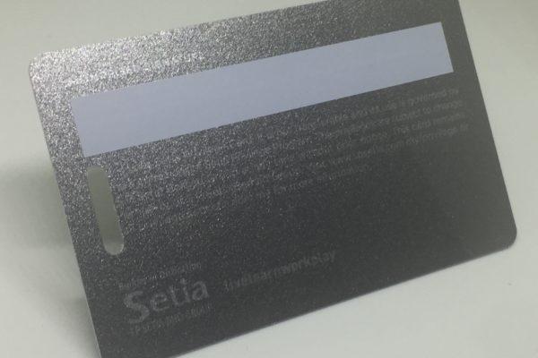 metalic silver back Plastic Card Quotation metalic silver back 600x400