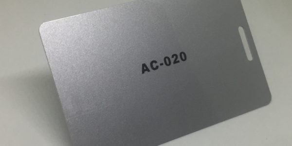 normal silver Plastic Card
