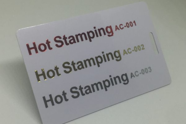 red gold and sliver hotstamping Plastic Card Quotation red gold and sliver hotstamping 600x400