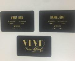 Ivory Name Card by VLVD