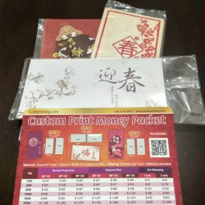 Sticker Quotation Form Money Packet Sample Kit 300x300