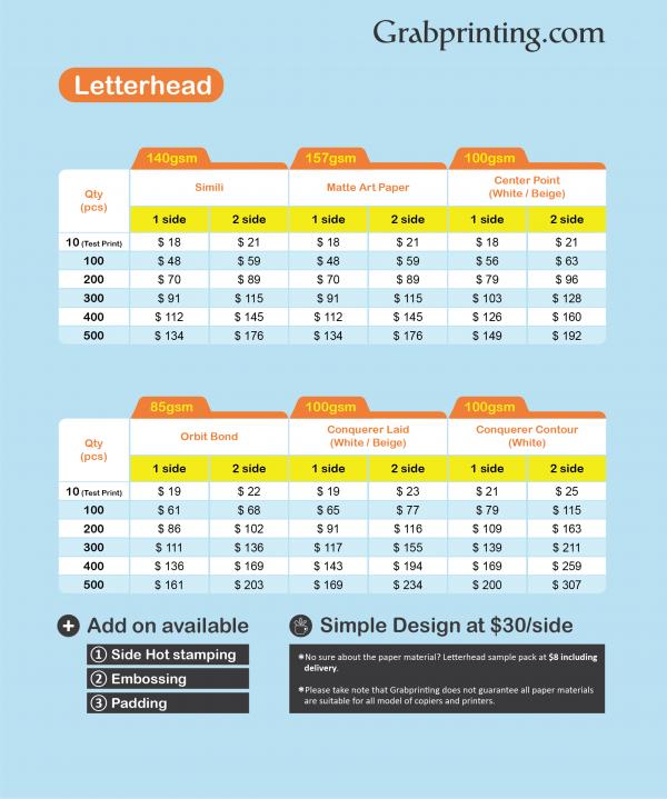 [object object] Letterhead Printing grabprinting letterhead price list 501px 600px 600x719