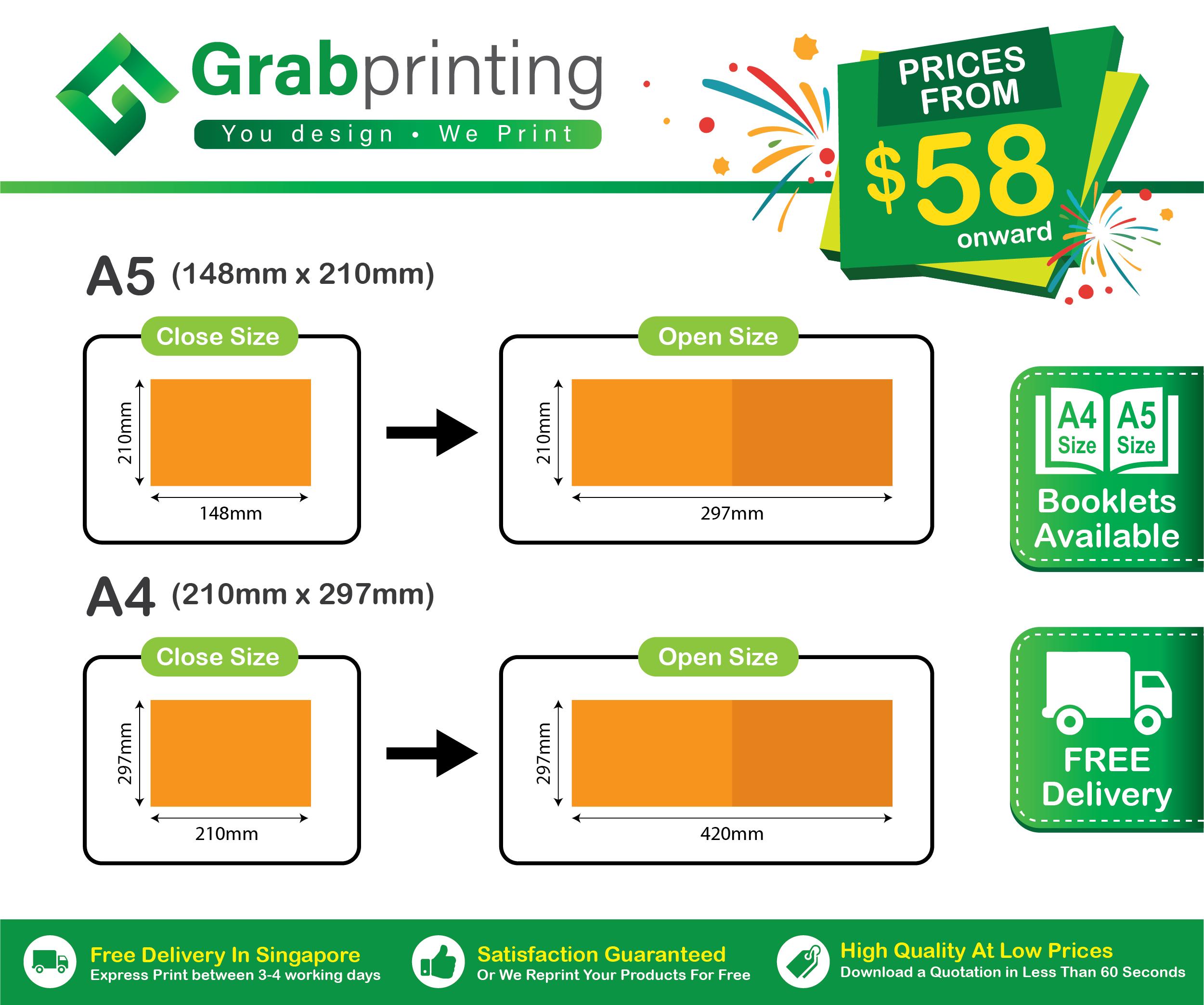 printing Home Grabprinting Digital Booklet Printing