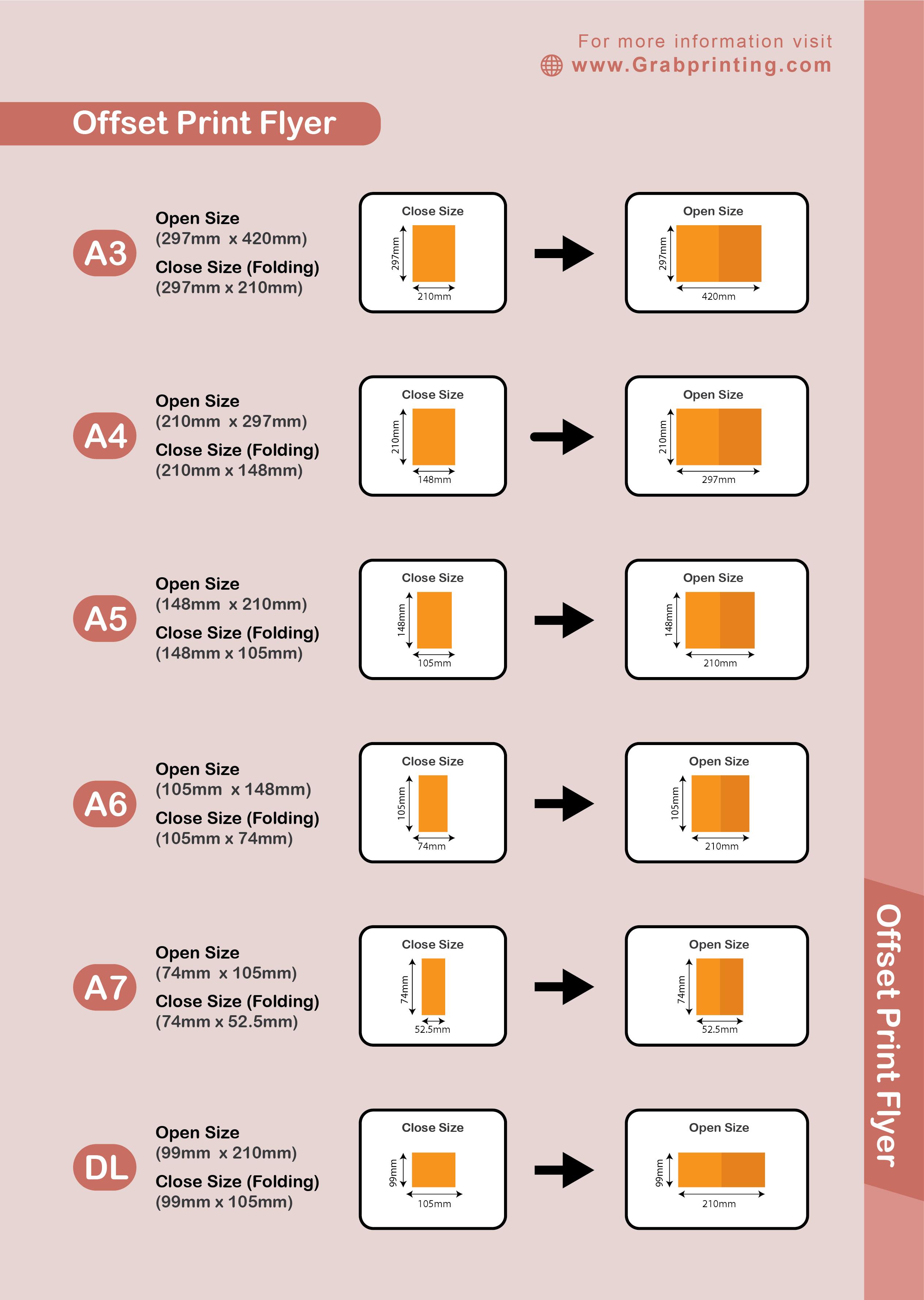 flyers printing Offset Flyers Printing Offset Flyer Printing Standard Sizes