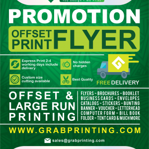 Paper Finishing Prices Offset flyer printing 300x300