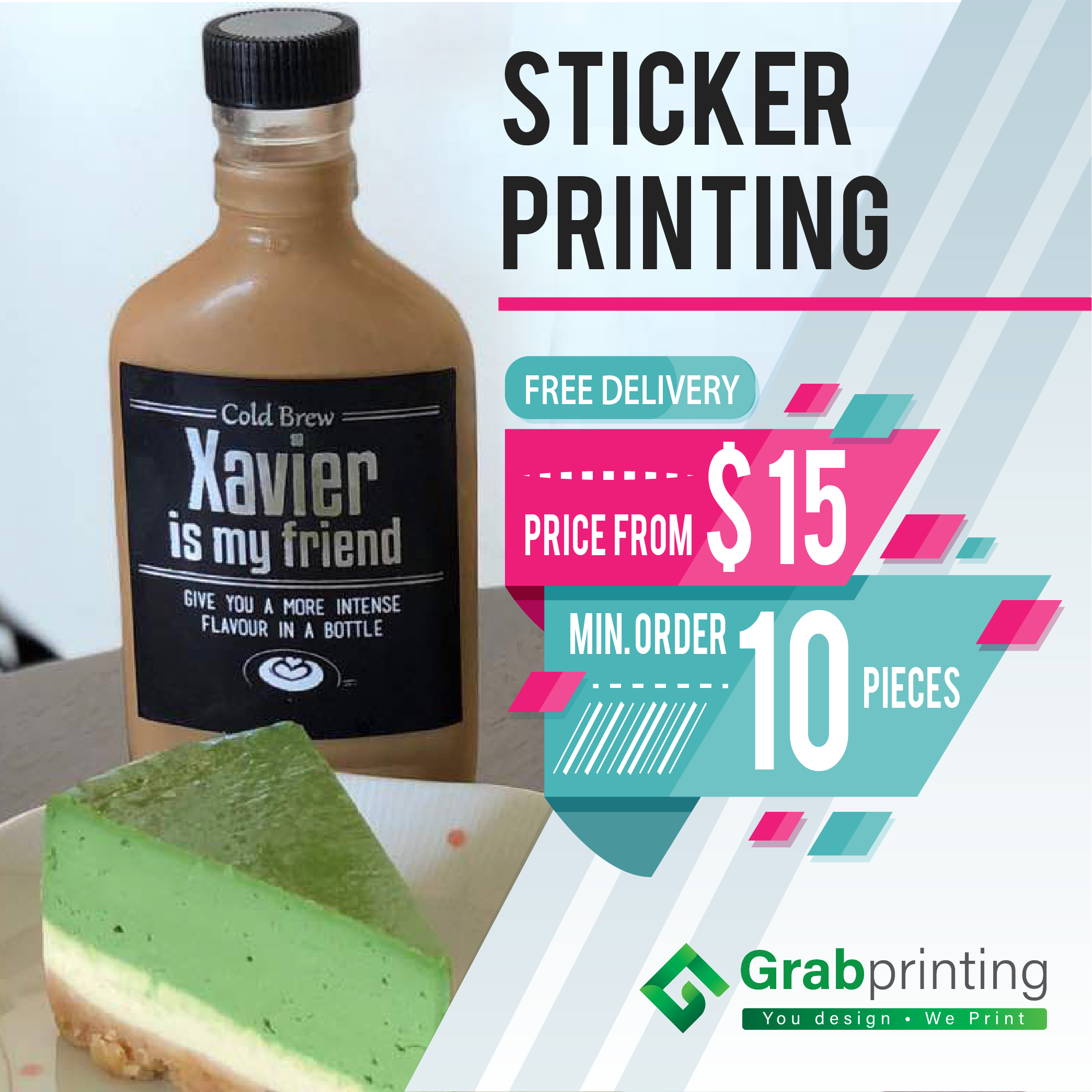 Sticker printing online free delivery direct factory prices