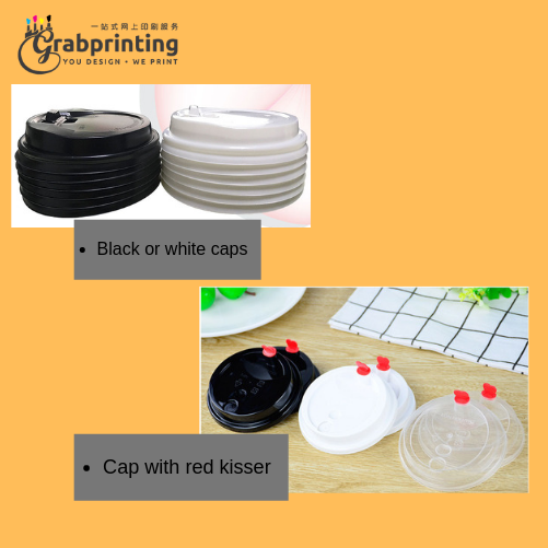 paper cup Paper cup printing Black or white caps