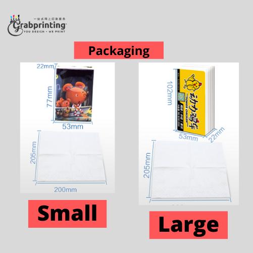 Pocket Tissue Printing Pocket Tissue Packeting
