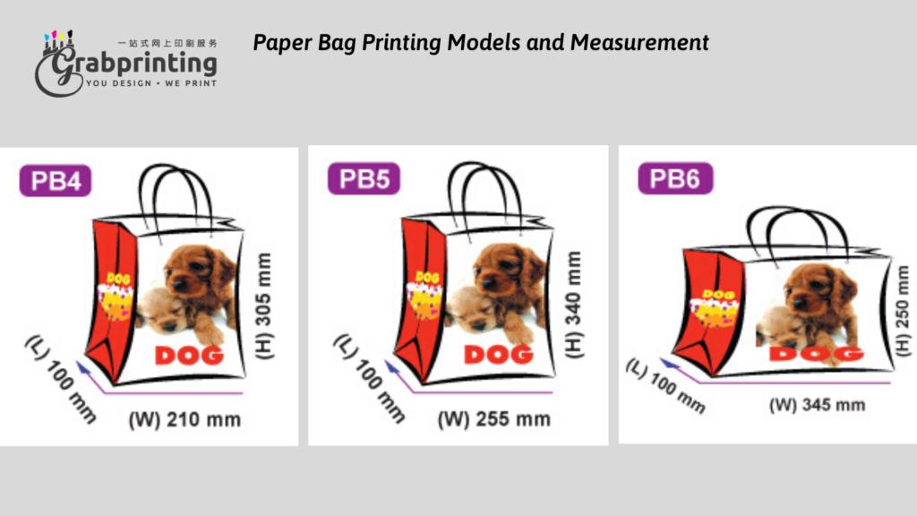 Kraft Paper Bag Printing Paper Bag Printing Models and Measurement 2 1024x576